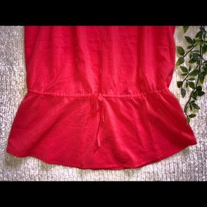 Banana Republic Tops - Red V-Neck Blouse